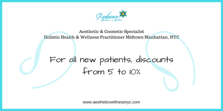 For all new patients discount from 5 to 10%